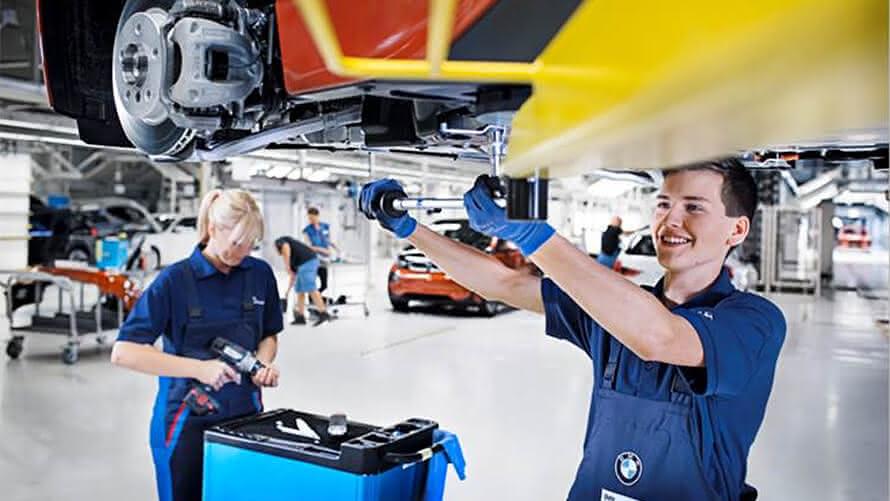 Jovem Aprendiz BMW.